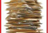 destrucción de documentos de archivo